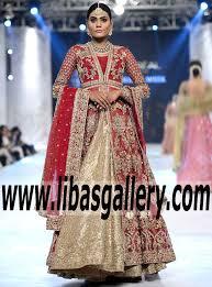 zara shahjahan bridal dresses pfdc loreal bridal week 2016 2017