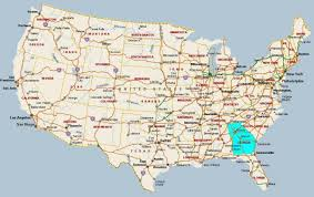 Great America Map by Map Of Georgia Map Georgia United States Of America