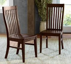 Dining Wood Chairs Trieste Dining Chair Pottery Barn