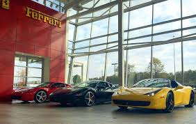 ferrari dealership reston man plows car into ferrari showroom in robbery find car meets