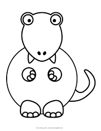 free cute t rex coloring pages 7013 cute t rex coloring pages