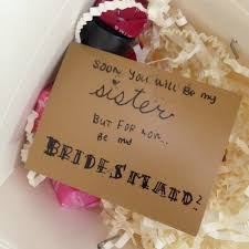 asking bridesmaid gifts bridesmaid gifts take out box of goodies floraful