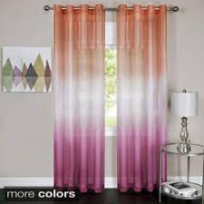 Purple Ombre Curtains Blue Ombre Curtains U0026 Drapes For Less Overstock Com