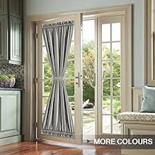 Blackout French Door Curtains Amazon Com Rhf Blackout French Door Curtains Thermal Insulated