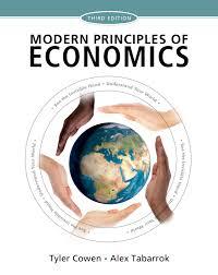 Modern Principles Of Economics 9781429278393 Macmillan Learning