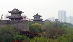 the xian city wall the best tourist place in the world