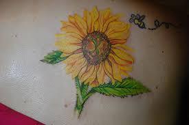 100 sunflowers tattoo designs 45 inspirational sunflower