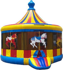 bounce house rentals carousel bounce house rental 16 ft clowns unlimited