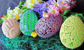 large plastic easter eggs buy crochet large easter eggs try handmade gallery free