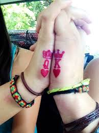 tattoo couple king and queen 20 amazing images of king and queen tattoos sheideas fashion
