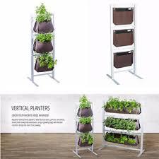 herb growing kit indoor vertical garden plants stand decoration