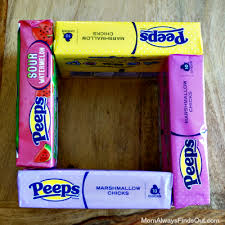 peeps basket make an easter basket with peeps easter candy boxes peepseaster