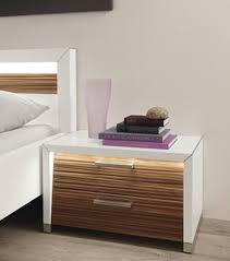 bed design with side table stylish bedside table decosee com