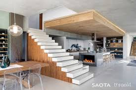wood interior design contemporary chic house with a comfortable and relaxed atmosphere