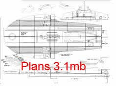 Free Wooden Model Boat Designs by Radio Controlled Power Boat Plans And Blueprints