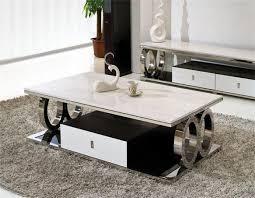 Living Room Furniture Tempered Glass Top Modern Design New Tea - Tea table design