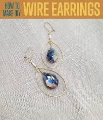 earrings diy how to make teardrop earrings diy projects craft ideas how to s