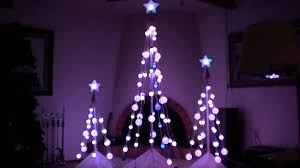 led color changing light show christmas tree u0027s with sound youtube