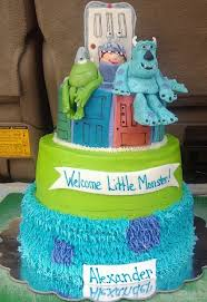 monsters inc baby shower cake s inc baby shower cake my s cakes