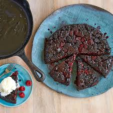 berry upside down chocolate cake rachael ray every day