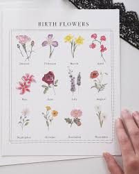 flower of the month birth flowers liisa moss