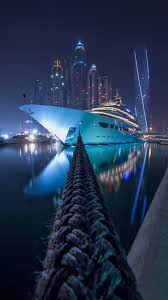 dubai marina at night mobile hd wallpaper vactual papers