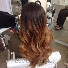 Warm Tone Hair Color Fall Hair Color Warm Chestnut Brown Balayage Ombré Done By Sara