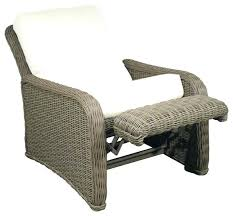 reclining patio chair with ottoman reclining patio chair lifecoachcertification co