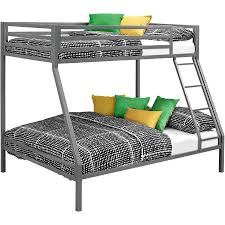 Kids Bunk Beds Twin Over Full by Mainstays Premium Twin Over Full Bunk Bed Multiple Colors With 2