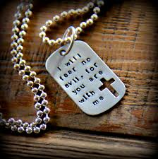 tag necklace mens images Men 39 s dog tag necklace mens religious jewelry necklace jpg