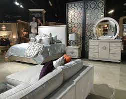 Bedroom Furniture Sacramento by Glimmering Heights Bed By Aico Furniture Aico Bedroom Furniture