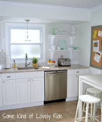 Finished Kitchen Cabinets by Kitchen Style Frosted Glass Door Storage Also White Finished