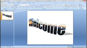 cara membuat gambar 3d di microsoft word powerpoint training how to quickly put an image inside 3d text in