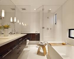 15 bathroom lighting ideas floating white washbasin under the