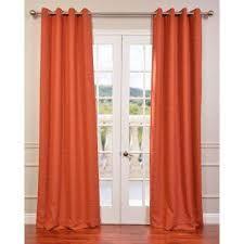 Orange Thermal Curtains Sweet Inspiration Orange Blackout Curtains Thermal