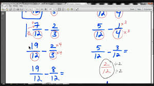 adding and subtracting fractions with whole numbers worksheets