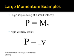 eq how are momentum and impulse expressed and what factors