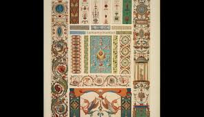 italian ornament no 1 pilasters and ornaments from the loggie of