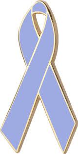 periwinkle ribbon periwinkle blue awareness ribbons lapel pins