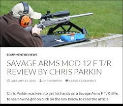 Shooting Bench Rest Reviews Savage F Tr Rifle Review From Target Shooter Magazine Daily Bulletin