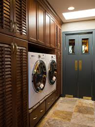 Small Laundry Room Decorating Ideas by Beautiful And Efficient Laundry Room Designs Hgtv