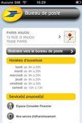 recherche bureau de poste la poste mobile dispo sous forme d un site mobile et d une