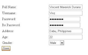 design web form in visual studio 2010 creating a simple registration form in asp net