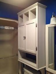 Cabinet That Goes Over Toilet The Runnerduck Bathroom Cabinet Plan Is A Step By Step