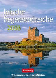 irische segenssprüche irische segenswünsche 2018 harenberg verlag