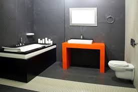 Gray And Black Bathroom Ideas 32 Bathrooms With Dark Floors