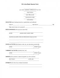 resume blank template resume blank template accurate gallery 40 templates sles exles