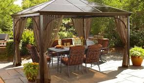 pergola wonderful gazebo outdoor patio octagon ft gazebo canopy