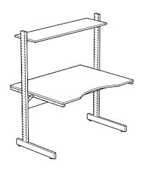 how to assemble ikea desk version 2 jerker instructions jerkersearcher com