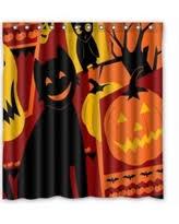 Halloween Bathroom Decor Spectacular Deal On Custom Halloween Pumpkin Waterproof Bathroom